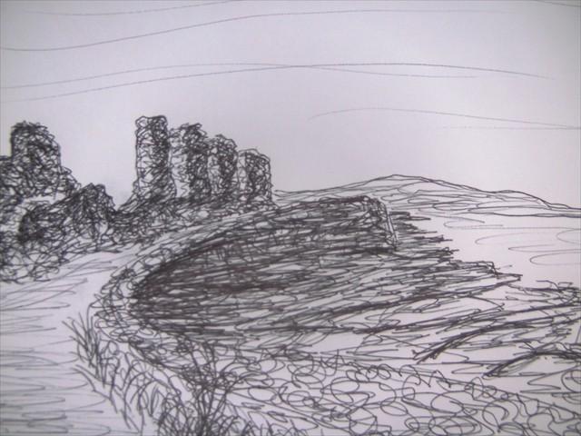Inís Mór Ruin Aran Islands Galway